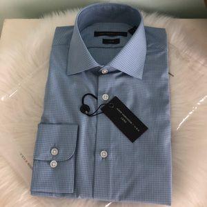 NEW JOHN VARVATOS Men's Luxe Button Down Shirt